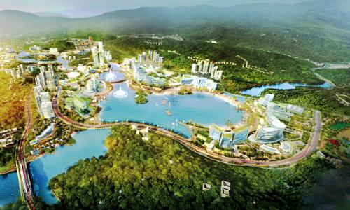Vân Đồn (Quảng Ninh) thu hút nhiều dự án đầu tư tư nhân.