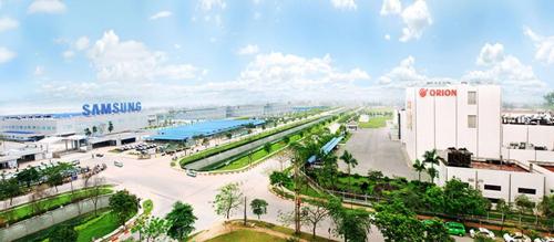 Sự xuất hiện của khu công nghiệpSamsung khiến nhu cầu về bất động sảntại Bắc Ninh tăng cao.