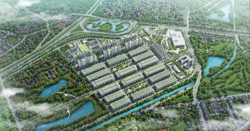 Him Lam Green Park định hướng trở thành khu đô thị kiểu mẫu tại Bắc Ninh.