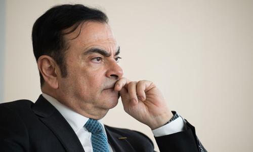 Cựu chủ tịch Nissan Motors - Carlos Ghosn. Ảnh: Bloomberg