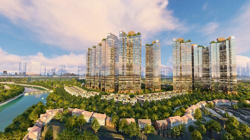 Phối cảnh tổng thể dự án Sunshine City Sài Gòn. Thông tin thêm về dự án Sunshine City Sài Gòn, liên hệ hotline: 1800 9696 82 hoặc website: www.citysaigon.sunshinegroup.vn