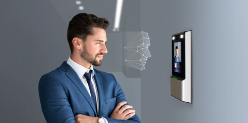 Công nghệ 4.0 nhận diện khuôn mặt.