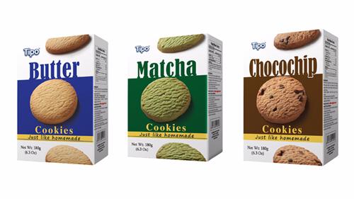 Dòng bánh Tipo cookies cao cấp của Hữu Nghị yêu thích tại thị trường quốc tế.