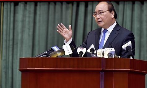 Thủ tướng Nguyễn Xuân Phúc. Ảnh: Bộ Tài chính