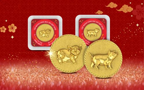 DOJI là một trong số ít doanh nghiệp vàng sở hữu nhiều dòng sản phẩm có sức cạnh tranh. Các sản phẩm ép vỉ vàng 999.9 như Kim Hợi Chiêu Tài, Kim Hợi Phát Lộc, Kim Thần Tài, Kim Ngân Tài... 1-2-5 chỉ cũng được đông đảo người dân lựa chọn làm quà tặng Tết.