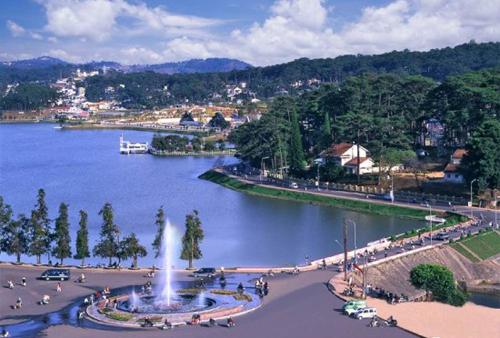 TP Đà Lạt, tỉnh Lâm Đồng, hiện nằm trong vùng Tây Nguyên.