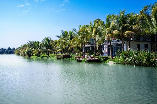 Tập đoàn Ecopark khởi công hạng mục biệt thự đảo siêu sang - ảnh 2