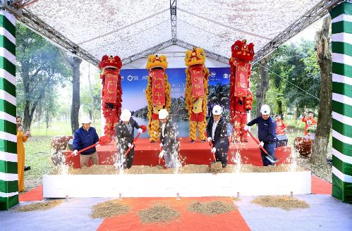 Tập đoàn Ecopark khởi công hạng mục biệt thự đảo siêu sang - ảnh 1