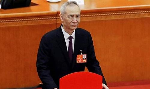 Phó thủ tướng Trung Quốc - Lưu Hạc. Ảnh: Reuters