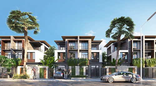 Căn biệt thự 5 sao tại dự án Goldsand Hill Villa có giá từ 4 tỷ đồng.