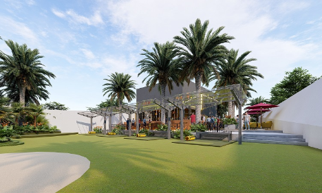 Sân tập golf trên cao tạo điểm nhấn cho Sunshine Golden River - Kinh Doanh
