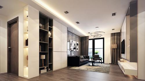 Các căn hộ rộng thoáng là xu hướng lựa chọn của nhiều khách hàng.