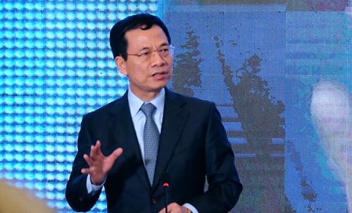 Bộ trưởng Nguyễn Mạnh Hùng: '4.0 là phải đập bỏ cái cũ, chấp nhận cái mới'