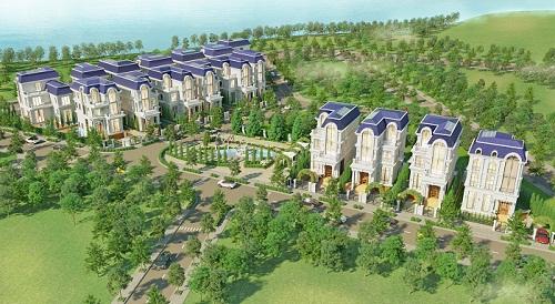 King Crown Village có 17 biệt thự dành cho giới thượng lưu.