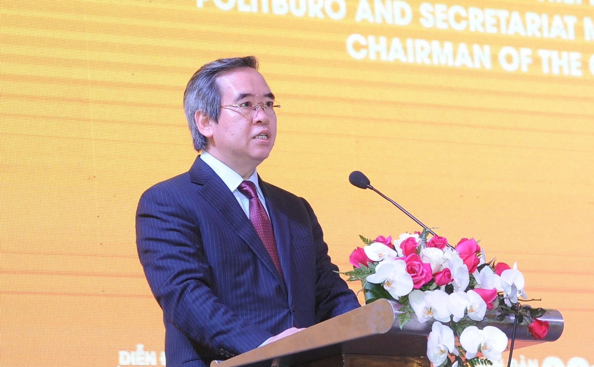 Ông Nguyễn Văn Bình: Trong thế giới phẳng, chỉ có thể cạnh tranh bằng thể chế