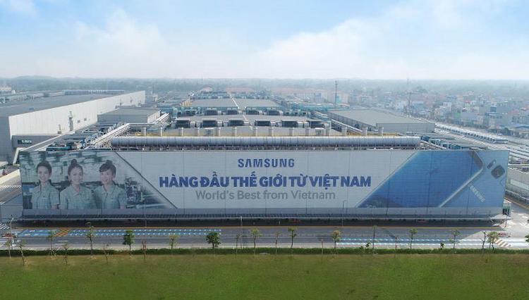 Samsung được miễn tiền bồi thường đền bù, giải phóng mặt bằng