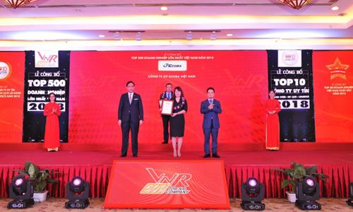 Ecoba Việt Nam vào Top 50 doanh nghiệp xây dựng lớn nhất