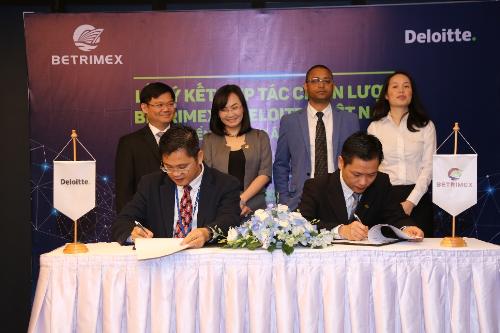 Ban lãnh đạo Betrimex và Deloitte ký kết hợp tác chiến triển khai dự án SAP - IFRS
