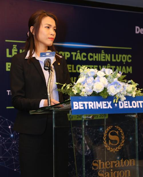 Bà Châu Kim Yến - Tổng giám đốc Công ty Betrimex.