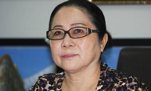 Bà Dương Bạch Diệp năm 2014. Ảnh: Mạnh Dương