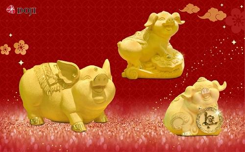 Đón Thần Tài với những sản phẩm vàng độc đáo từ DOJI - 4