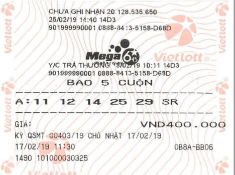 Trúng độc đắc 22 tỷ nhờ chọn vé theo ngày sinh của người thân - ảnh 1