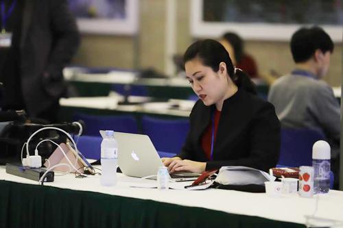 Các sản phẩm chất lượng quốc tế của TH phục vụ các phóng viên tại Trung tâm báo chí quốc tế Hội nghị Thượng đỉnh Mỹ - Triều lần 2 tại Hà Nội.