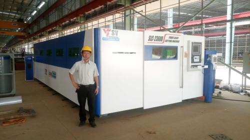 Tiêu đề:Công ty Sơn Vũ được - nhà sản xuất nguồn laser fiber hàng đầu thế giới đào tạo về bảo dưỡng và khắc phục sự cố nguồn laser fiber tại Viêt Nam ( Xin bài edit) - 1