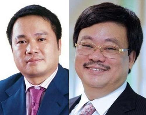 Ông Hồ Hùng Anh (trái) và ông Nguyễn Đăng Quang.