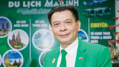 Chủ tịch HĐQT Tập đoàn Mai Linh - ông Hồ Huy.