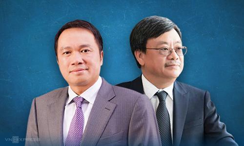 Ông Nguyễn Đăng Quang và ông Hồ Hùng Anh được xem là bộ đôi gắn bó lâu năm. Ảnh: Tạ Lư.