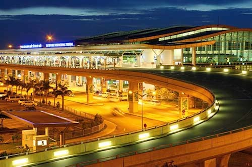 Cảng hàng không quốc tế Tân Sơn Nhất. Ảnh: TSN