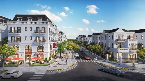 Central City có thiết kế đồng bộ trong kiến trúc, cảnh quan cùng không gian xanh khoáng đạt.