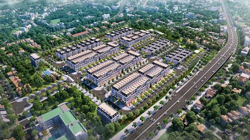 Central City là một trong những khu đô thị kiểu mẫu tại TP Uông Bí, Quảng Ninh