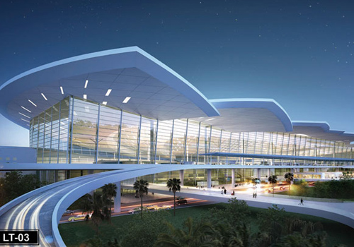 Phối cảnh thiết kế sân bay quốc tế Long Thành, Đồng Nai.