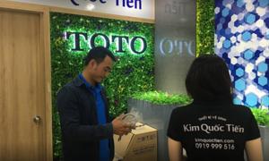 Showroom Kim Quốc Tiến giảm giá đến 36% thiết bị vệ sinh ToTo