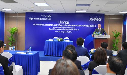 Toàn cảnh lễ ký kết hợp tác giữa Bản Việt và KPMG.