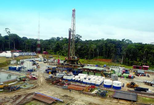 Một dự án đầu tư khai thác dầu khí của PVEP tại Peru. Ảnh: PVEP