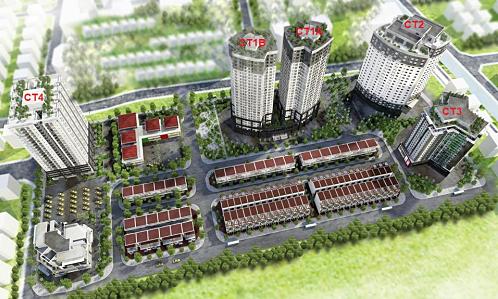 Căn hộ gần trung tâm Hà Đông có giá từ 700 triệu đồng