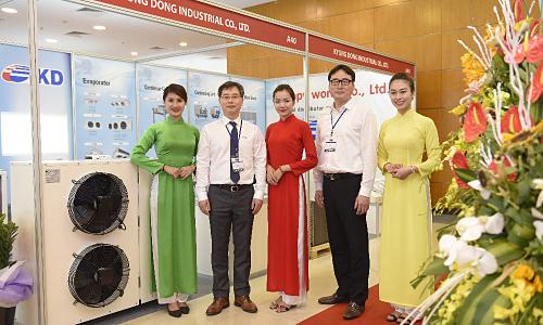 90% nhà trưng bày quốc tế tham dự HVACR Việt Nam 2019 - Kinh Doanh
