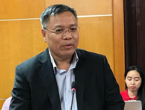 Ông Đinh Quang Tri - Phó tổng giám đốc Tập đoàn Điện lực Việt Nam (EVN). Ảnh: H. Thu