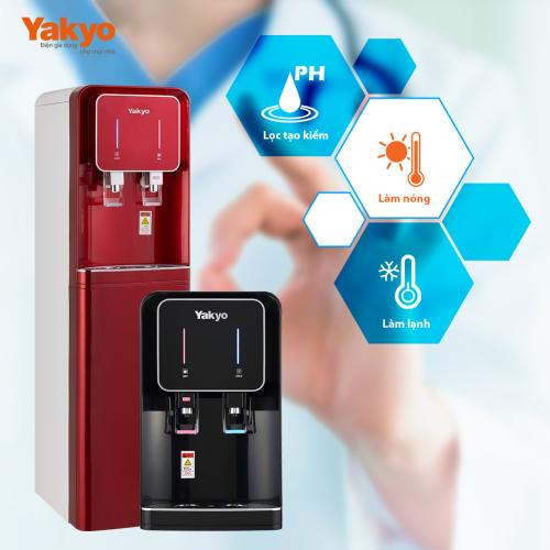 Những tính năng ưu việt của máy lọc nước Yakyo.