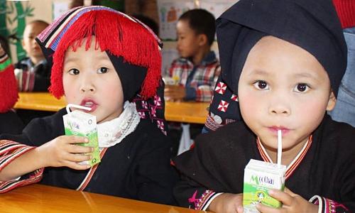 10 năm mang sữa cho trẻ em nghèo vùng cao của Mộc Châu Milk