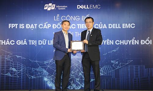 FPT IS trở thành đối tác cao cấp của Dell EMC - Kinh Doanh