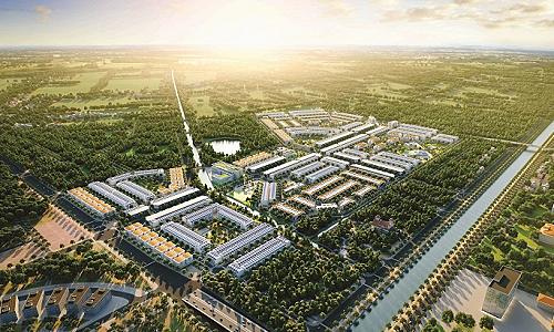 Tập đoàn DIC khởi công xây dựng dự án Victory City Hậu Giang