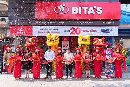 Bita's đồng loạt khai trương 4 cửa hàng trên toàn quốc