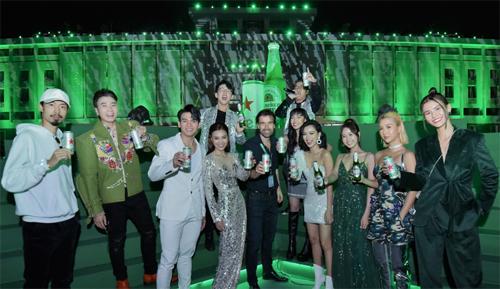 Sự kiện thu hút nhiều sao Việt đến tham gia.