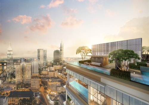 HongkongLand vàHoa Lâmra mắt dự án căn hộ hạng sang tại quận 1