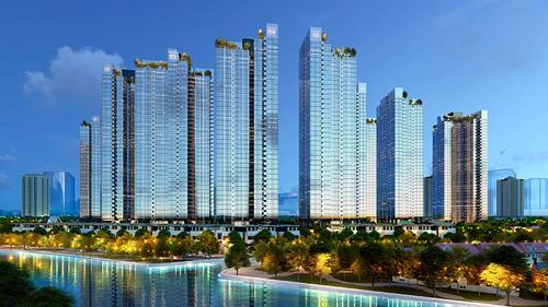 Sunshine City Sài Gòn với 70% tổng diện tích xây dựng để phát triển hệ thống cảnh quan xanh trong lành, đáp ứng các tiêu chuẩn sống quốc tế khắt khe nhất.