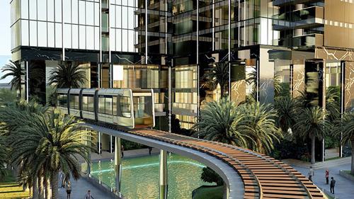 Tổ hợp chung cư cao cấp 9 tòa cao tầng Sunshine City Sài Gòn có lợi thế đặc biệt khi tọa lạc tại vị trí trung tâm quận 7, liền kề Phú Mỹ Hưng.
